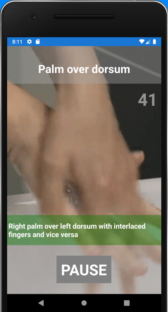 Learn how to wash your hands properly with Washem